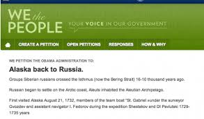 100 Daily Page Isthmus 8K People Have Signed A Petition To Give Alaska To Russia Public