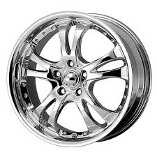 Amazon.com: American Racing Casino AR683 Chrome Wheel (17x7.5