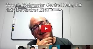 Webmaster by Google Webmaster Central Hangout Archives Deepcrawl