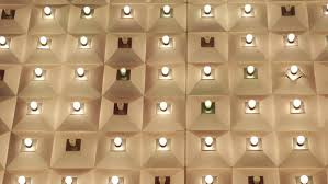 nightlife incandescent lights bulbs golden display ceiling las