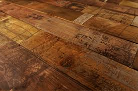 Screen Printed Wood Flooring