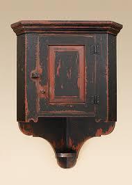 Farmhouse Hanging Corner Cabinet Image