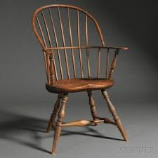 Nichols And Stone Windsor Armchair by Search All Lots Skinner Auctioneers