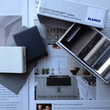 Blanco Sink Grid Amazon by A Black Farmhouse Sink Gives Our Country Kitchen A Warm Feel