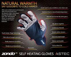 self heating gloves zondo