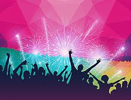 New Years Eve Party Poster Background Material Image Download