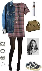 True Grunge By Annieglaysh Liked On Polyvore Hipster Outfits WinterHipster Fashion WinterCute