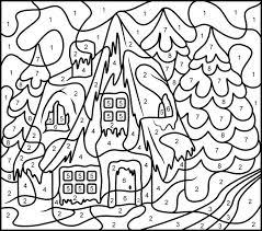 Coloring Pages Free Printable Disney Color By Number Best