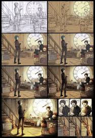 WIP Inside The Clock Tower By Kibbitzer Drawings In PencilDigital PaintingsMotion GraphicsCool IdeasPhotoshop
