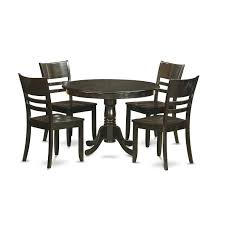 East West Furniture HLLY5-CAP-W Sunset Trading Co Selections Round Dinette Table Winners Only Quails Run 5 Piece Pedestal And 42 Ding With 4 Side Chairs Shown In Rustic Hickory Brown Maple An Asbury Finish Oak Set Rustica 54 W What I Want For My Kitchena Small Round Pedestal Table Archivist Crown Mark Camelia Espresso Glass Top Family Wood Kitchen Room Breakfast Fniture Modern Unique Sets Design Models New Traditional Cophagen 3piece Cinnamon