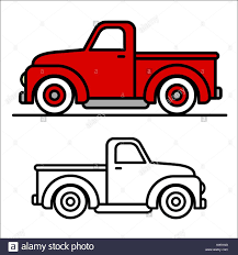 Two Cartoon Vintage Pick-up Truck Outline Drawings, One Red And ... Chevy Lowered Custom Trucks Drawn Truck Line Drawing Pencil And In Color Drawn Army Truck Coloring Page Free Printable Coloring Pages Speed Of A Youtube Sketches Of Pictures F350 Line Art By Ericnilla On Deviantart Mercedes Nehta Bagged Nathanmillercarart Downloads Semi 71 About Remodel Drawings Garbage Transportation For Kids Printable Dump Drawings Note9info Chevy