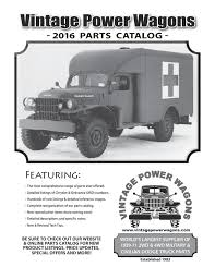 100 Vintage Truck Parts Calamo Complete 2016 Power Wagons Catalog