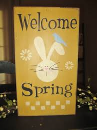 Primitive Easter Decorating Ideas by 187 Best Spring Signs Images On Pinterest Easter Crafts Easter