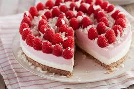 No Bake Gluten Free White Chocolate Raspberry Cheesecake