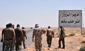 siege army syrian army claims it has broken years siege on deir ez