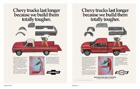 Chevrolet Print Advert By McCann: Then/Now - 2   Ads Of The World™ History Of Chevy Trucks Best Silverado Latest Installment Meyer Truck Historychevy Facts About Image Kusaboshicom Chevrolet Ck Wikipedia Of The Pressroom United States Images This Is What A Century Looks Like Automobile Magazine Timeline Beneficial C K Tractor 192013 Youtube 14 Best Dream Images On Pinterest Pickups Pickup The Worlds Newest Photos Chevy And Gamewarden Flickr Hive Mind