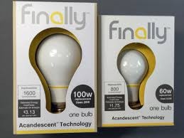 why would anyone buy a finally bulb at home with tech