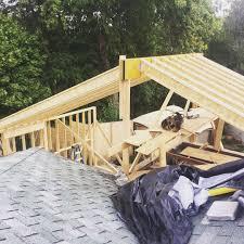 Tji Floor Joist Span by Matttfullerwe Began Framing This Tji Rafter Roof Over A 40x26