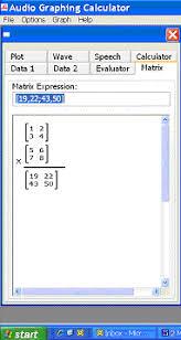 Susan s Math Technology Corner The Audio Graphing Calculator AGC