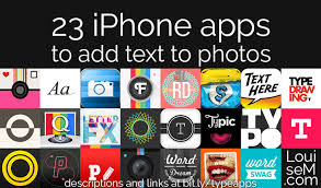 List 23 iPhone Apps to Add Text to s