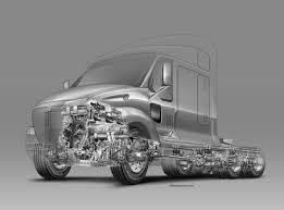 Semi-truck Project On Behance