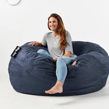 Fuf Big Joe King Bean Bag Chair 5 Ft Bean Bag Foot Chair 98 Big Joe Round Multiple Colors Mochi Beanbag Super Comfy Gamer Daisies Pie 10 Best Bean Bags The Ipdent Foam Chairs Filled With Giant Huge Extra Large Flash Fniture Oversized Solid Gray Best Of 2019 Your Digs Nearly New X2 From Argos Cordaroys Full Size Convertible By Lori Greiner Qvccom
