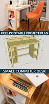Sewing Cabinet Plans Build by How To Build A Diy Small Computer Desk Free Printable Project