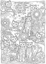 Creative Haven Cats Coloring Book By Marjorie Sarnat
