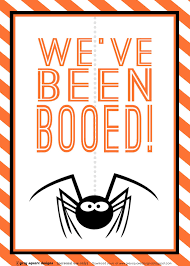 Free Cute Halloween Flyer Templates by Grey Square Designs You U0027ve Been Booed Free Printable Halloween
