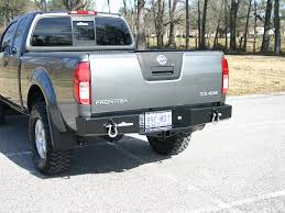 100 Nissan Trucks 2013 2nd Generation Frontier Rear Bumper
