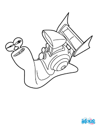 TURBO Coloring Pages 7 Movie Online Coloring Sheets For Kids