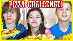 Kidz Bop Halloween Challenges by The Pizza Challenge Disgusting Ingredients Kittiesmama Fav