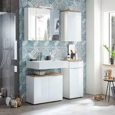 weiße badeinrichtung möbel set etosia 4 teilig