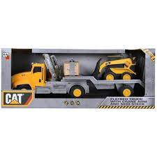 100 Skid Truck Caterpillar Massive Machine Lights And Sounds And Trailer