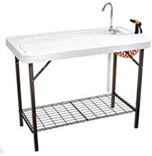 Stainless Steel Fish Cleaning Station With Sink by Amazon Com Best Choice Products Folding Portable Fish Fillet
