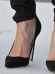 Rihannas Tattoo Collection In Pictures Celebrity Tattoos