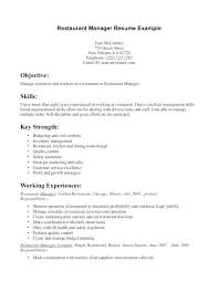 Restaurant Manager Resume Examples From Cashier Cv Sample Samples Ingenious Ideas Of For