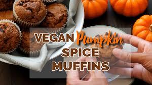 Vegan Pumpkin Muffins No Oil by Vegan Gluten Free Pumpkin Spice Muffins Delightful Adventures