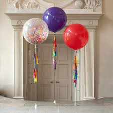 Housewarming Balloons Bright Perfect For A Kiddos Birthday Party Rainbow Tassel Tail Giant Balloon By Decorations Ideas