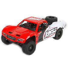 Losi 1/10 Baja Rey RTR 4WD Desert Truck (RED)