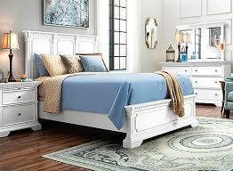 Angelina 4 pc Queen Bedroom Set Cream White