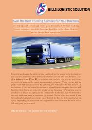100 Best Trucking Avail The Services For Your Business By Aishah Issuu