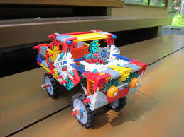 100 Pickup Truck Dump Bed KNEX With 10 Steps