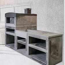 cuisine d été exterieur cuisine d été extérieure en reconstituée sur mesure