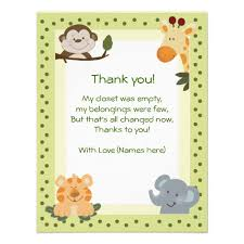 Baby Shower Cards Samples by Baby Shower Gift Card Thank You Card Samples Baby Shower Favors