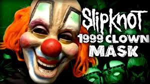 Slipknot Halloween Masks 2015 by Slipknot 1999 Clown Mask Youtube