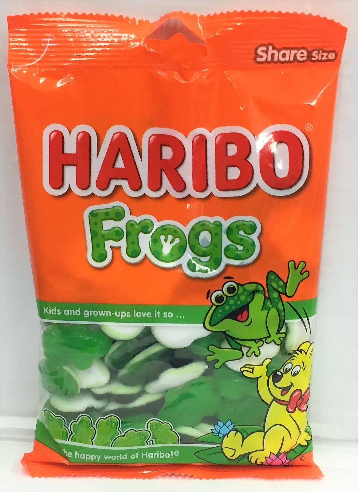 Haribo Frogs Gummi Candy 8 oz Gummy