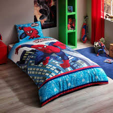 Spiderman Twin Bedding by Spiderman Ultimate Twin Single Size 100 Cotton Duvet Cover Set