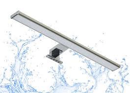 trango spiegelleuchte 2245 modern ip44 led spiegelle in format easy produktlänge 830 mm 15 watt 4 stufen dimmbar 3000k warmweiß