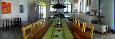 esstisch und offene küche